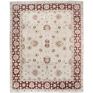 Handknotted Designer Wool Agra Rug (12'7'' x 15'1'') - 12'7'' x 15'1''