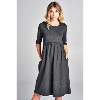 Tea Length Shirt Dresses