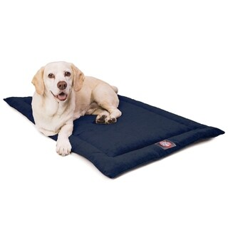 "48"" Villa Navy Blue Crate Dog Bed Mat By Majestic Pet Products"