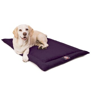 """48"""" Villa Aubergine Purple Crate Dog Bed Mat By Majestic Pet Products"""