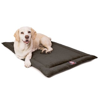 """48"""" Villa Storm Gray Crate Dog Bed Mat By Majestic Pet Products"""