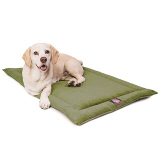 """48"""" Villa Fern Crate Dog Bed Mat By Majestic Pet Products"""