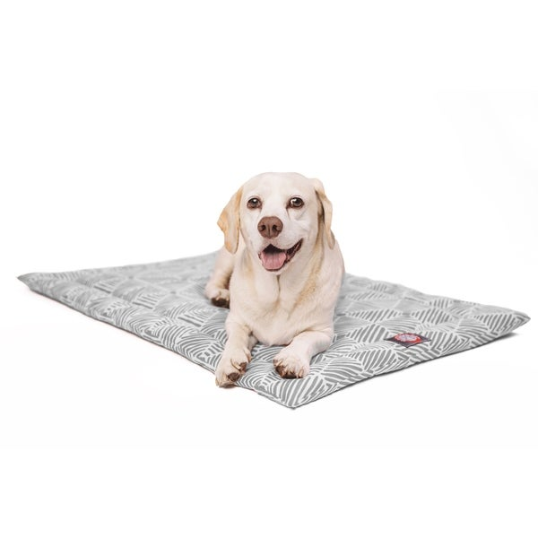 Shop 48 Quot Charlie Gray Crate Dog Bed Mat By Majestic Pet Products Free Shipping Today Overstock 18241176