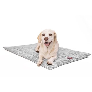 """48"""" Charlie Gray Crate Dog Bed Mat By Majestic Pet Products"""