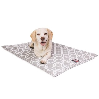 """48"""" Links Gray Crate Dog Bed Mat By Majestic Pet Products"""