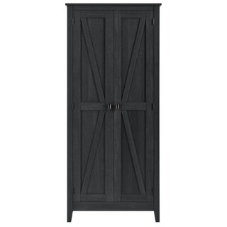 The Gray Barn Latigo Brown 31.5-inch Storage Cabinet