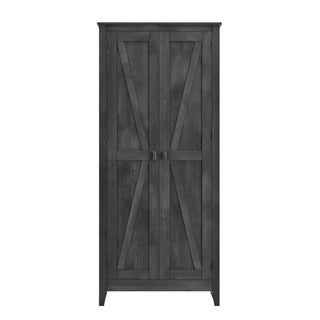The Gray Barn Latigo Brown 31.5-inch Storage Cabinet (Option: Grey)