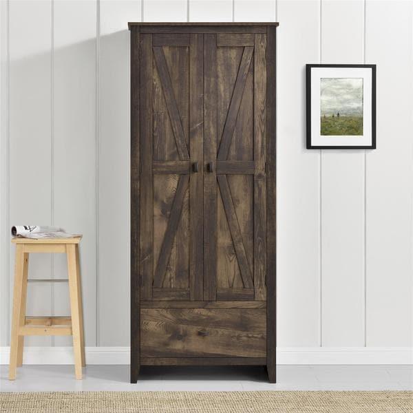 Avenue Greene Becken Ridge Brown 30 Inch Wide Storage Cabinet