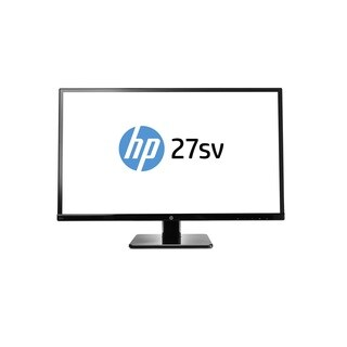 "HP 27sv 27"" LED LCD Monitor - 16:9 - 7 ms GTG"