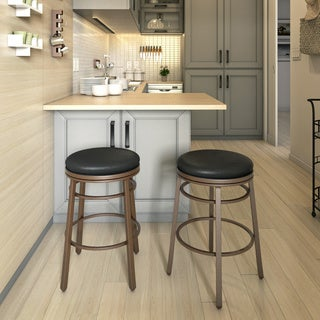 Backless Swivel Stool Free Shipping Today Overstock