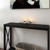 Porch & Den Montclair Ardsley Round Waves Black Wrought Iron Candleholder/ Centerpiece