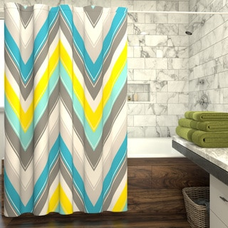 Porch & Den Carytown Sheppard Shower Curtain