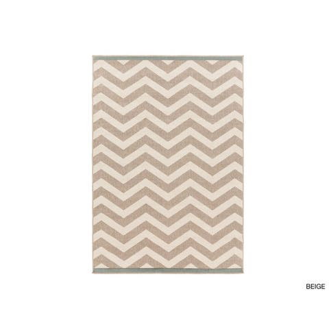 Chevron Indoor/ Outdoor Area Rug
