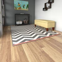 Porch & Den Allston-Brighton Franklin Chevron Indoor/ Outdoor Area Rug - 5'3 x 7'6
