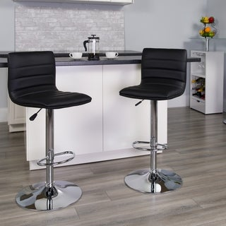 Porch & Den Town Square Swivel Bar Stool
