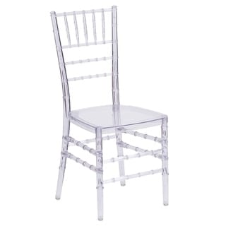 Porch & Den Stonehurst Bristol Transparent Stacking Dining Chair