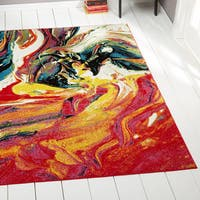 Porch & Den Hampden Craycombe Multi-colored Area Rug - 7'10 x 10'2