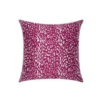 Porch & Den Greenpoint Kingsland Indoor/ Outdoor Leopard Lilac 20-inch Throw Pillow