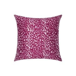 Porch & Den Kingsland Indoor/ Outdoor Leopard Lilac 20-inch Throw Pillow