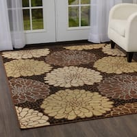 Porch & Den Morling Black Area Rug - 5'2 x 7'2