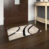 "Porch & Den Keswick Beige/ Brown Area Rug - 19"" x 31"""