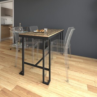 Carbon Loft Cartwright Counter Table with Bamboo Top