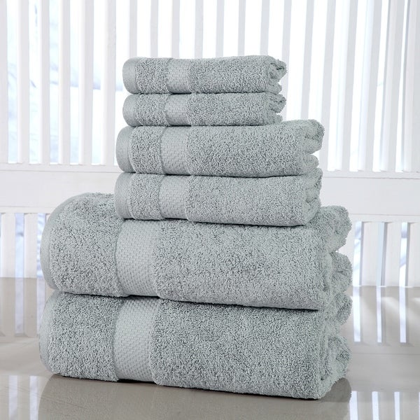 Porch & Den Holly Hills Lunsford Cotton 600 GSM 6-piece Towel Set