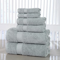 Porch & Den Lunsford Cotton 600 GSM 6-piece Towel Set