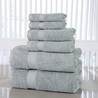 Porch & Den Holly Hills Lunsford Cotton 600 GSM 6-piece Towel Set
