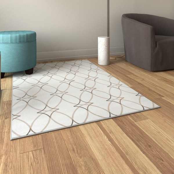 Porch & Den Pearl District Gilson Olefin Geometric Area Rug (3'3 x 4'11)