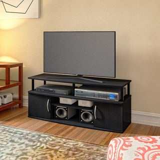 Link to Porch & Den Astor Black MDF Large Entertainment Center Similar Items in Entertainment Units