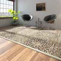 Porch & Den Pearl District Burnside Beige Area Rug - 7'10 x 10'6