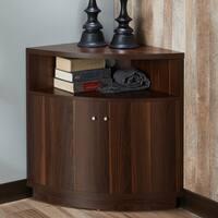 Porch & Den Bushwick Wilson 3-shelf Corner TV Stand