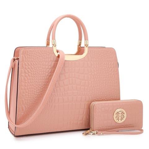 1a03ebc6c61c3d Pink Handbags | Shop our Best Clothing & Shoes Deals Online at Overstock