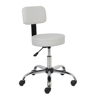 Porthos Home Adjustable Stool With Tilt Adjust And Nylon Caster Wheels (3 options available)