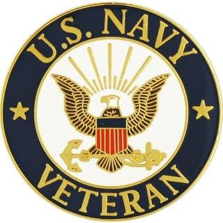 US Navy Logo Veteran Pin 1-1/2 Inches