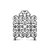 Ornamental Designs Avalon Cast Aluminum 2-panel with Arch Fireplace Screen