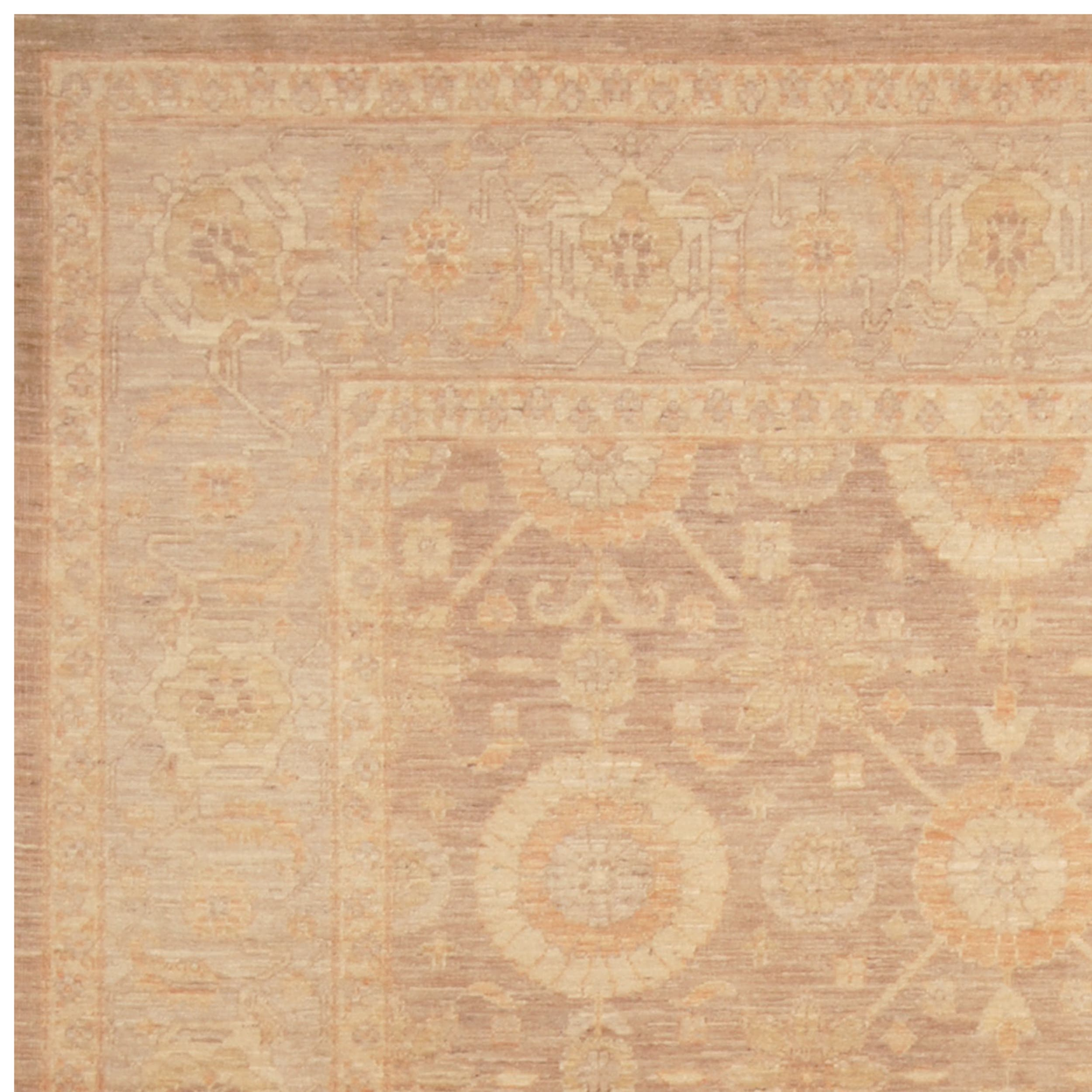 Vegetable Dyed Hand Knotted Floral Oushak Ivory Persian: Buy 6' X 9' Area Rugs Online At Overstock