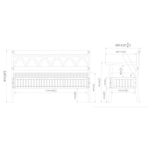 Elliana Storage Bench