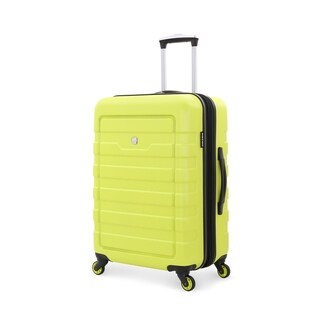 SwissGear Yellow 24- inch Lightweight Hardside Spinner Suitcase