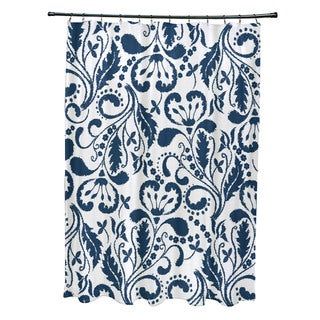 Aurora Floral Print Shower Curtain (As Is Item)