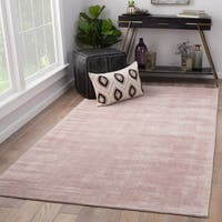 Juniper Home Lizette Blush Pink Handmade Area Rug (9' x 12')