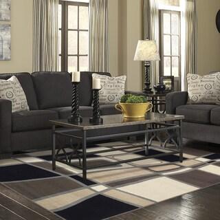 Miranda Haus Designer Cobblestone Area Rug (8' X 10') - 8' x 10'