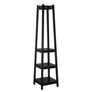 Powell Helena Black Wood Coat Rack
