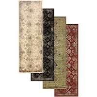 "Superior Designer Mayfair Area Rug Collection - 2'7"" x 8'"