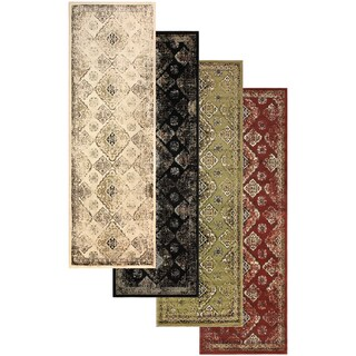 "Superior Designer Mayfair Area Rug Collection - 2'7"" x 8' (4 options available)"