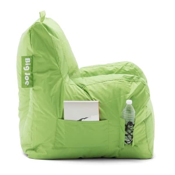Admirable Shop Big Joe Dorm Bean Bag Chair Free Shipping Today Beatyapartments Chair Design Images Beatyapartmentscom