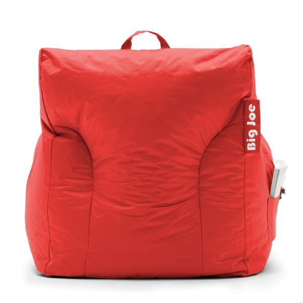 Awesome Shop Big Joe Dorm Bean Bag Chair Free Shipping Today Beatyapartments Chair Design Images Beatyapartmentscom