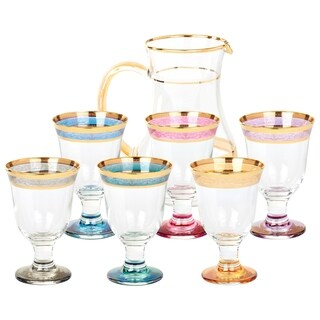 Pitcher Set 7 Piece Melania Collection Multicolor
