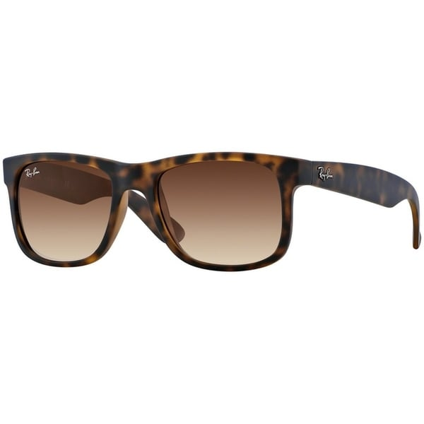 68d8de31f3 Ray-Ban Men  x27 s RB4165 Justin Classic Tortoise Frame Brown Gradient 51mm